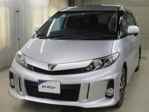 トヨタ エスティマ アエラス 両側パワースライドドア HDDナビ フルセグ