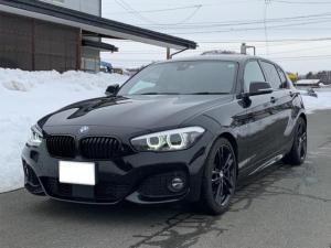 BMW 1シリーズ 118i Mスポーツ エディションシャドー ミラーETC オートクルーズコントロール 純正アルミホイール コニャックレザー シートヒーター 純正HDDナビ バックカメラ コンフォートアクセス LEDヘッドライト ドライビングアシスト AAC