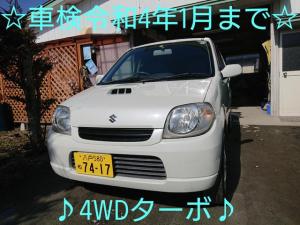 スズキ Kei Bターボ Bターボ(4名) 車検令和4年1月 スタッドレスタイヤ