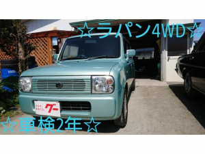 スズキ アルトラパン X 4WD キーレス CDオーディオ エアバッグ