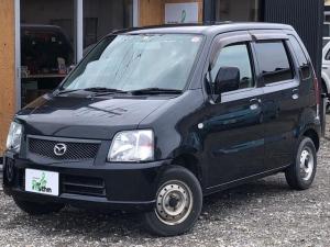 マツダ AZワゴン FM-G 走行58000キロ 4WD 5MT カセットデッキ 電動格納ミラー 後席分割シート シートヒーター