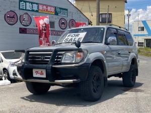 トヨタ ランドクルーザープラド TX 4WD サンルーフ ETC CD 社外サスペンション
