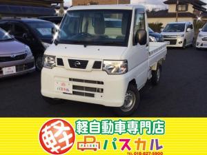 日産 NT100クリッパートラック SD 4WD 5速マニュアル車 エアコン パワステ 純正オーディオ