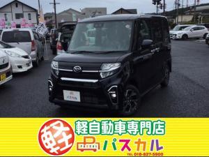 ダイハツ タント カスタムXセレクションスマアシIII4WD 純正バックカメラ