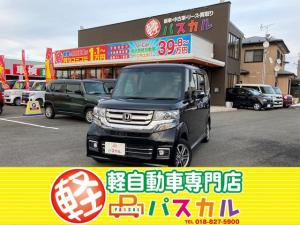 ホンダ N-BOXカスタム G SSパッケージ 4WD 両側電動スライドドア 純正ワンセグナビ バックカメラ ETC シートヒーター