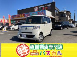 ホンダ N-BOX G 4WD プッシュスタート 社外フルセグナビ