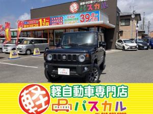 スズキ ジムニー XC プッシュスタート・電動サイドミラー・ステアリングリモコン・オートエアコン