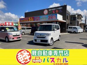 ホンダ N-BOX G・Lホンダセンシング 4WD 届出済未使用車 ETC バックカメラ 両側シートヒーター 助手席側電動スライドドア プッシュスタート