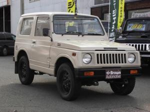スズキ ジムニー SJ30 ベージュ全塗装 ノーマル車高
