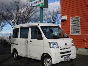 トヨタ ピクシスバン デラックス 4WD キーレス 禁煙車 プライバシーガラス ドアバイザー