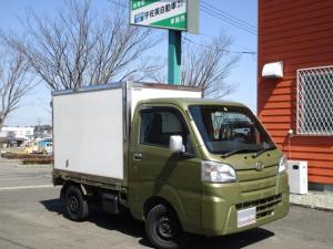 ダイハツ ハイゼットトラック スタンダード 保冷車 4WD 5MT ナビTV バックカメラ AC PS