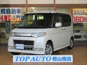ダイハツ タント カスタムX 4WD スマートキー CD 純正エアロ
