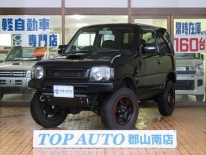 スズキ ジムニー クロスアドベンチャーXC 4WD 8型 5速マニュアル リフトアップ 社外マフラー ハーフレザーシート 無修復歴車 保証付