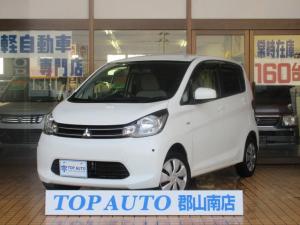 三菱 eKワゴン M 4WD CD キーレスキー ETC シートヒーター 保証付