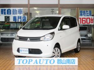三菱 eKワゴン M CD キーレス ETC シートヒーター クリアランスソナー 保証付