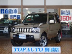 スズキ ジムニー ワイルドウインド 4WD ターボ 6型 キーレス ナビ CD ルーフレール 保証付