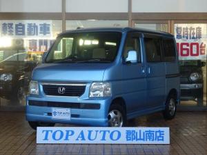 ホンダ バモス L 4WD キーレス CD 純正アルミホイール 後期型 無修復歴