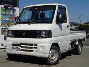 三菱 ミニキャブトラック VX-SE 4WD 5速M/T エアコン パワステ ラジオ