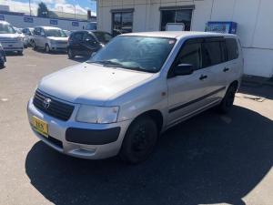 トヨタ サクシードバン 4WD UL  純正 ナビ