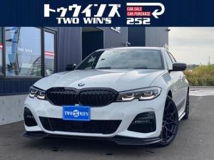 BMW 3シリーズ 320d xDrive Mスポーツ Mパフォーマンスパッケージフルエアロ 20インチアロイホイール コンフォートパッケージ ハイラインパッケージ Mスポーツパッケージ サンルーフ ブラックレザーシート ETC 走行フリーKIT