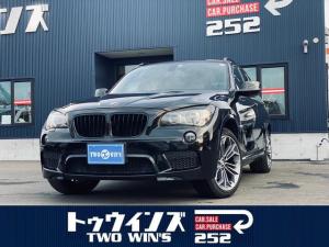 BMW X1 xDrive 20i Mスポーツ 関東仕入れ 4WD HIDヘッドランプ コンフォートアクセス 18インチアルミホイール カッロツェリアHDDナビ フルセグ サンルーフ