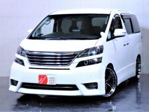 トヨタ ヴェルファイア 2.4Z ワンオーナー ローダウン 新品20AW ライト加工
