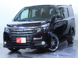トヨタ ノア ワンオーナー X 4WD 新品ホイール ヘッドライト加工