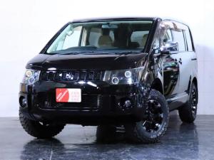 三菱 デリカD:5 エクシード 新品ホイール 新品マッドタイヤ ヘッドライト加工