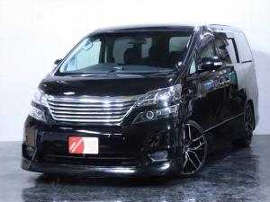 トヨタ ヴェルファイア 2.4Z エアロ 新品20インチAW 3連ヘッドライト加工