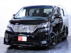 トヨタ ヴェルファイア 2.4Z 車高調 新品20AW ライト加工 両側パワスラ