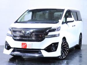トヨタ ヴェルファイア 2.5X 新品エアロ/新品21インチホイール/新品タイヤ