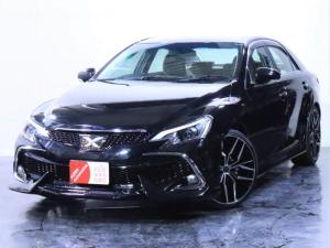 トヨタ マークX 250G Four 4WD/後期仕様/新品フルエアロ/新品20インチホイール/新品社外ヘッドライト