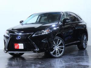 レクサス RX RX450h バージョンL 4WD/エアサス/本革シート/新品スピンドルエアロ/新品ヘッドライト/新品22インチホイール