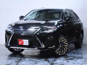 レクサス RX RX450h バージョンL 4WD/エアサス/黒本革シート/新品スピンドルエアロ/新品ヘッドライト/新品21インチホイール