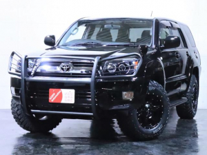 トヨタ ハイラックスサーフ SSR-X 後期仕様/バンパーガード/新品ヘッドライト/新品ホイール/新品マッドタイヤ