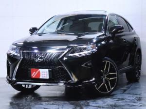 レクサス RX RX450h バージョンL サンルーフ/4WD/エアサス/黒本革シート/新品スピンドルエアロ/新品ヘッドライト/新品22インチホイール
