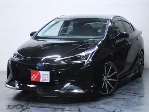 トヨタ プリウス S E-Four 4WD/新品フルエアロ/新品19インチホイール/ヘッドライト加工/トヨタセーフティセンス