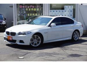 BMW 5シリーズ 528i Mスポーツパッケージ ワンオーナー 左ハンドル サンルーフ 黒革 ディーラー車 純正HDDナビ Bカメラ ETC ドラレコ 1年保証付