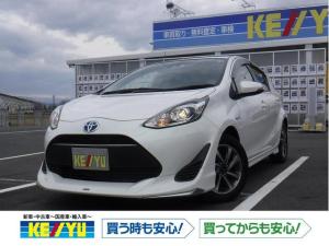 トヨタ アクア ナビ レディパッケージ 衝突軽減 SDナビ 1セグTV