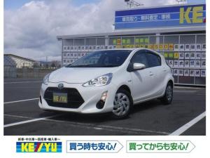 トヨタ アクア S 純正SDナビ DVD Bカメラ スマートキー Aストップ
