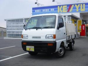 スズキ キャリイトラック KC 切替4WD 当社買取車 三方開