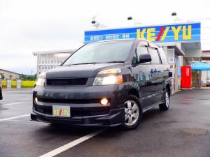 トヨタ ヴォクシー X Vエディション 4WD 1オーナー 禁煙車 東京都仕入 両側電動スライドドア サンルーフ HIDライト 純正HDDナビ CD/DVD再生 バックカメラ オートエアコン プライバシーガラス