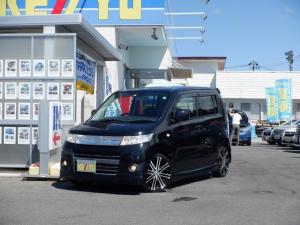 スズキ ワゴンRスティングレー X 4WD 社外7インチSDナビ 12セグTV HIDヘッドライト シートヒーター オートエアコン スマートキー プッシュスタート 電動格納ミラー 社外17インチAW