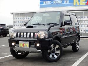スズキ ジムニー クロスアドベンチャーXC 東京仕入 4WD 社外7インチSDナビ 1セグTV キーレス ヘッドライトレベライザー 電格ミラー CD シートヒーター フォグ ETC 背面タイヤ