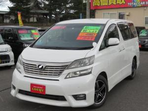 トヨタ ヴェルファイア 2.4Z プラチナムセレクション 4WD ナビ ETC