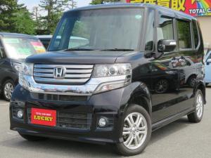 ホンダ N-BOXカスタム G・Lパッケージ 4WD ナビ フルセグ ETC 横滑り防止 プッシュスタート ワンオーナ