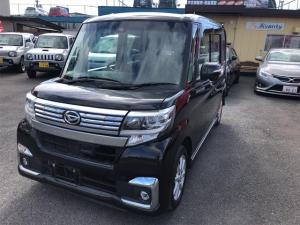ダイハツ タント カスタムX SAII 4WD 両側電動スライドドア ナビフルセグTV プッシュスタート