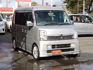 スズキ エブリイワゴン PZターボ 4WD AT CD