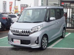 三菱 eKスペースカスタム カスタムT 社有車上り ターボ 全方位カメラ 両側電動Sドア