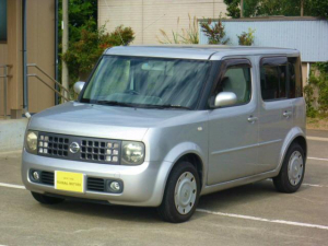 日産 キューブ BX チェーン車CDキーレスETC